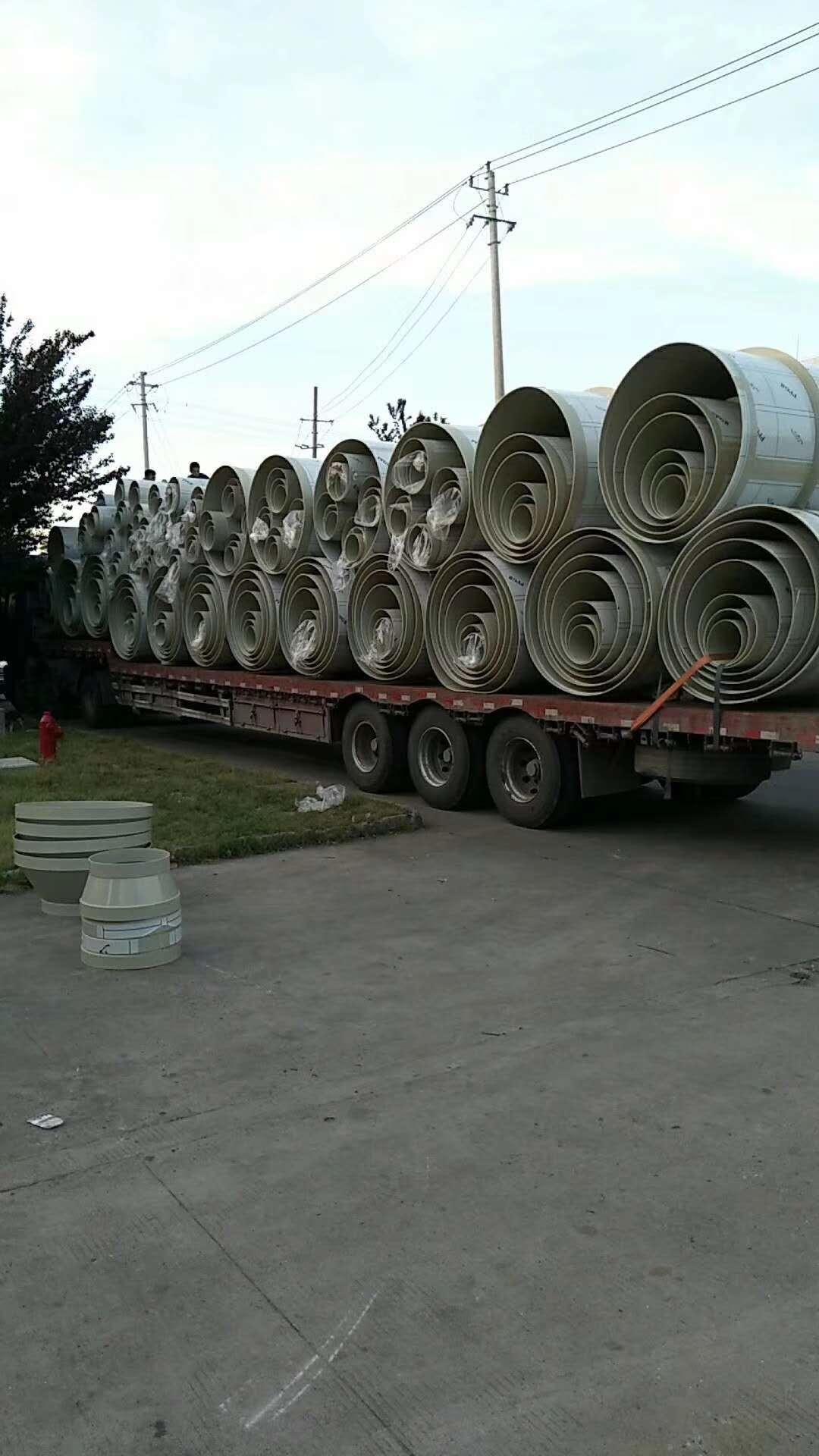 PP风管发货照片